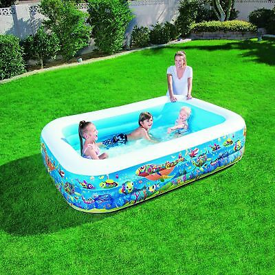 "Bestway Children Kids 90"" X 60"" X 22"" Summer Garden Outdoor Fun Play Pool"
