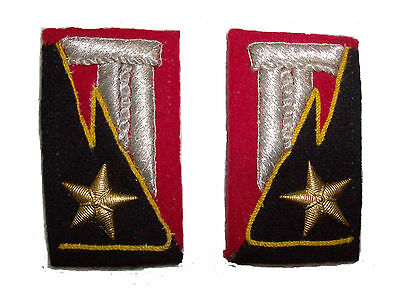 Royal Italian Army Grenader Headquarters collar tabs (reproduction)