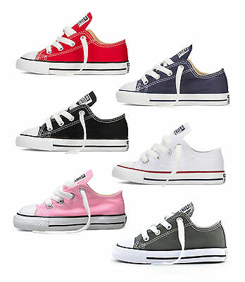 Converse Ct All Star Ox - Various Colours - Infant Sizes Uk 3-Uk 10 - Brand New