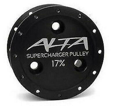 Alta Performance 17% SC Reduction Pulley & Gates Belt for MINI Cooper S (R53)