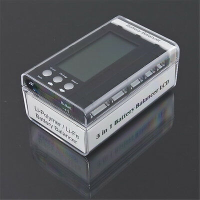 2-6S 3 in 1 Lipo LiFe LCD Smart Battery Balancer Capacity Checker Discharger