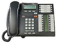 Norstar T7316e Telephone Charcoal I Avaya Labeled I NT8B27JAMAE6 I Brand New