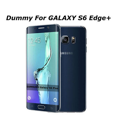 Black Non Working Dummy Toy Phone Fake Model For Samsung Galaxy S6 Edge+ Plus