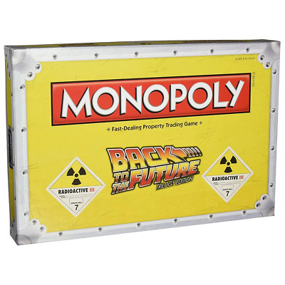 Monopoly Back to the Future APAC Board Game