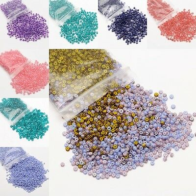 500/3000Pcs Czech Glass Seed Beads Loose Beads For Jewelry Making DIY Wholesale