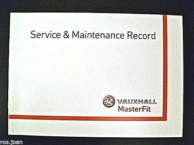 Vauxhall Service History Record Book Insignia + Tourer Models Brand New Genuine*
