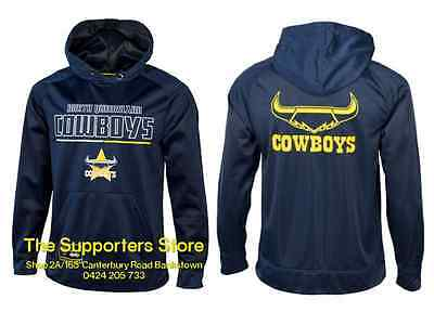 North Queensland Cowboys NRL 2016 Classic Polyester Hoody Size S-5XL! BNWT's!