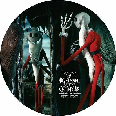 The Nightmare Before Christmas - Soundtrack - 2 x Picture Disc Vinyl LP *NEW*
