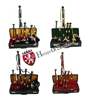 Great Highland Bagpipes African Black Wood/Full Set Scottish Bagpipes Rosewood