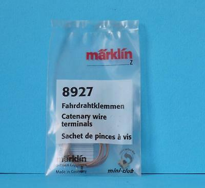 New Marklin 8927 Z Gauge Catenary Wire Terminals Clips Mini Club