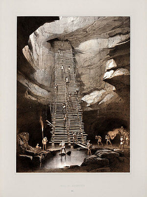 """Frederick Catherwood: """"Well of Bolonchen"""" (1844) — Giclee Fine Art Print"""
