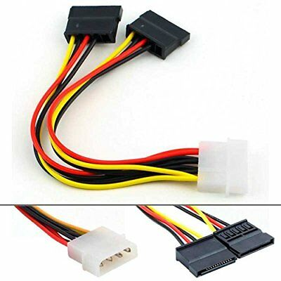 Cable Alimentacion Ide Molex Sata Doble Serial Ata Disco Duro HDD CD DVD C11