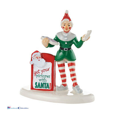 Dept 56 Snow Village 4054207 Get Your Pictures With Santa New 2016