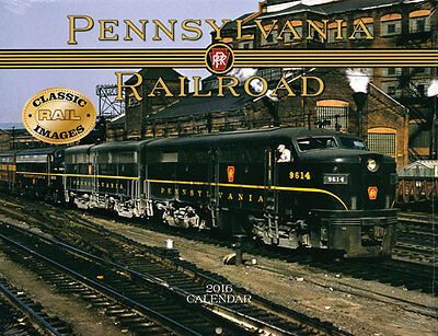 NEW SEALED Pennsylvania Railroad 2016 Calendar from Tidemark PRR