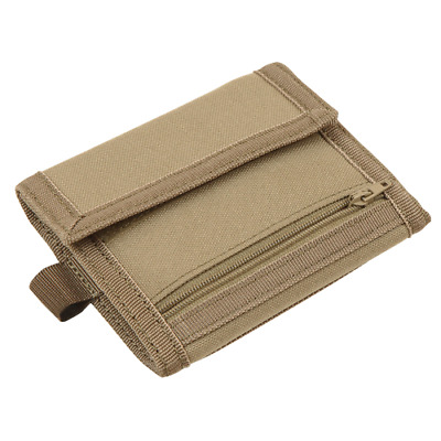Condor 235 OD GREEN VAULT Tri-Fold Travel Wallet ID Badge Window Card Coin Pouch