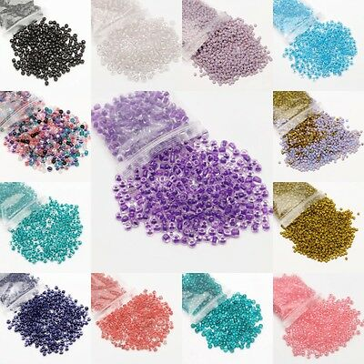 Wholesale Chic Glass Seed Beads Spacer Loose Beads 500/3000Pcs For Jewelry DIY