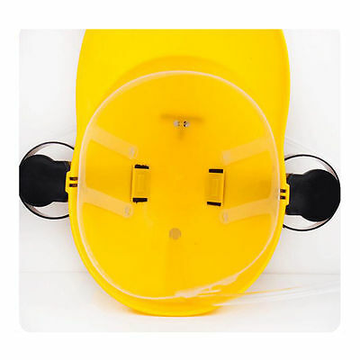 Beer Drinking Helmet Hat Game Drink Fun Party Baseball Dispenser  yellow