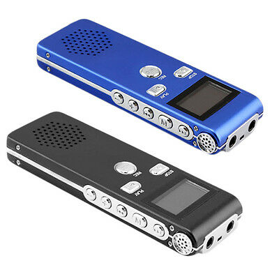 8 GB Voice Activated USB LCD Display Pen Digital Recorder Dictaphone MP3 GT