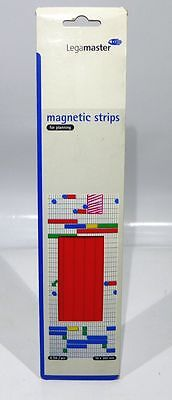 legamaster magnetic strips Magnetstreifen 10x300 mm 6Stk./pcs rot/red # R236