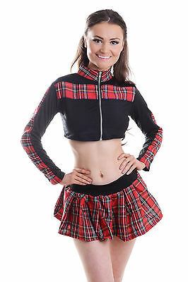 6ff43dab89a New Womens Ladies Naughty School Girl Hen Doo Fancy Dress Party Outfit  Lingerie