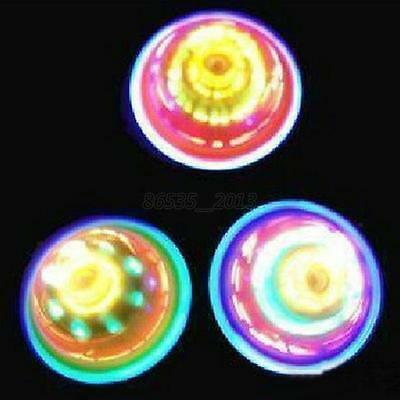 LED Light Laser Color Flash Gyro Peg-Top Spinning Top Toy Gifts for Kid Children