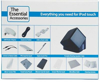 The Essential Accessories for iPod touch - 12 in 1 - Speaker, Stylus, Case Etc