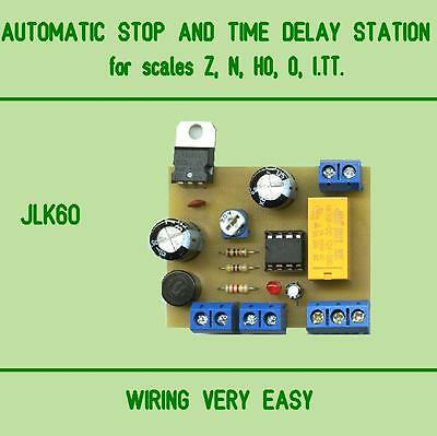 MODULE AUTOMATIC STOP AND TIME DELAY STATION for scales Z, N, HO, O, I.TT.