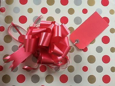 Cellophane gift wrap 2m x 80 cm - Male Birthday Christmas FREE PULL BOW & CARD