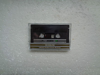 Vintage Audio Cassette TDK SA 90 From 1982 - Fantastic Condition !!