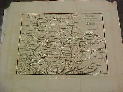 original map 1822 french revolutionary war napoleon general moreau germany