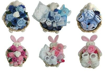 Baby Gift Basket Girl/boy Baby Shower Christening  maternity mothers present