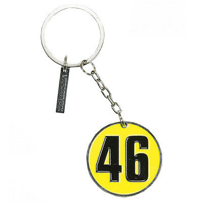 Valentino Rossi VR46 Logo Stamp Moto GP Key Ring Official 2016