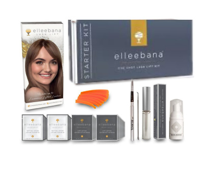 Elleebana One Shot Lash Lift Starter Kit 15 Service with silcone rods