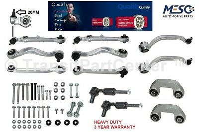 Set Of Front Suspension Track Control Arms Kit For Audi A4 8D2,b5 S4 1997-2001