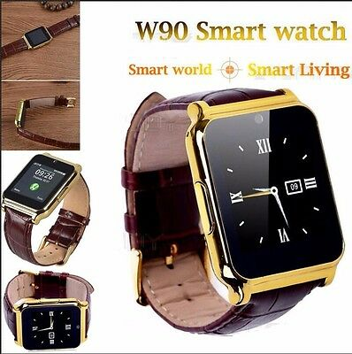 W9 Bluetooth Smart Watch Intelligente Orologio Polso SIM Slot For Android iOS