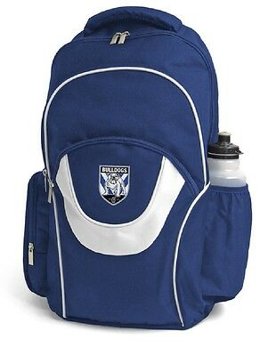 Bulldogs - NRL Team Logo Supporter Official Licensed Fusion Backpack Sports Bag
