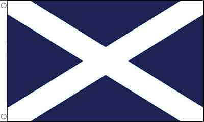 3' x 2' St Andrews Cross Flag Dark Blue Scotland Scottish Banner