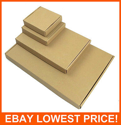 Brown Postal Cardboard Boxes A4/a5 Large Letter Mailing Parcel Shipping Cartons