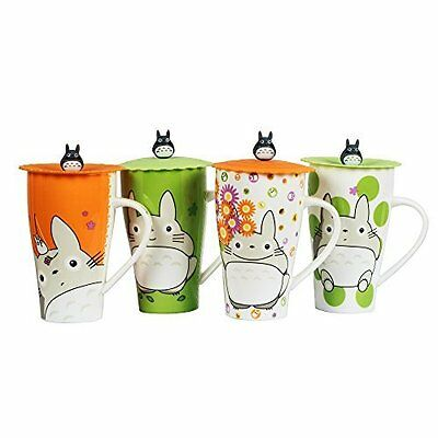 Totoro Mug With Silicone Lid (random color)
