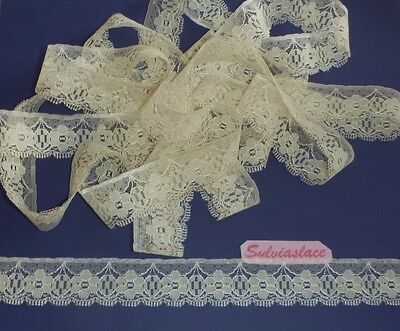 10 metres of Flat Lace 30mm wide (Various Colours)