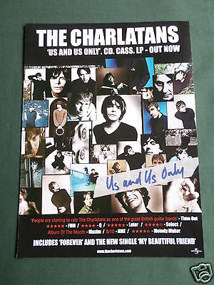 The Charlatans - Magazine Clipping / Cutting- 1 Page Advert