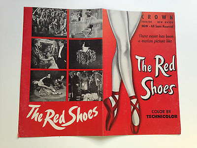 1948  RED SHOES - CROWN THEATRE, NEW HAVEN Movie Program