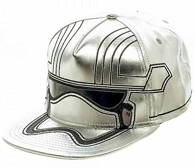 *NEW* Star Wars: Captain Phasma Episode 7 Big Face Mens Snapback Cap by Bioworld
