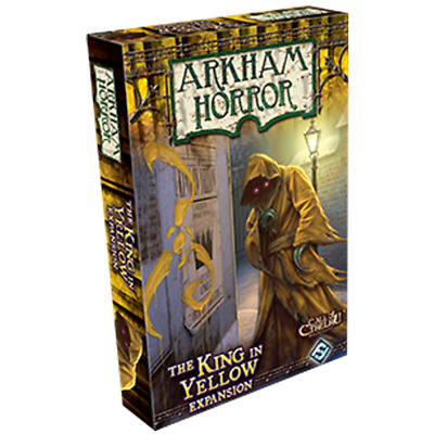 Arkham Horror The King In Yellow Expansion Board Game