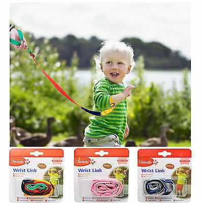 Baby Child Anti Lost Safety Wrist Link Toddler Harness Leash Strap Adjustable