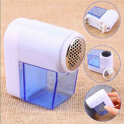 Mini Electric Fuzz Cloth Pill Lint Remover Wool Sweater Fabric Shaver Trimmer TG