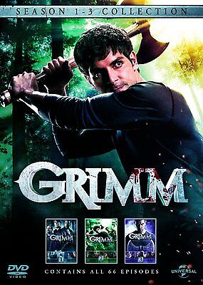 "Grimm the complete Season series 1, 2 & 3 DVD box set R4 ""dent sale"" new sealed"