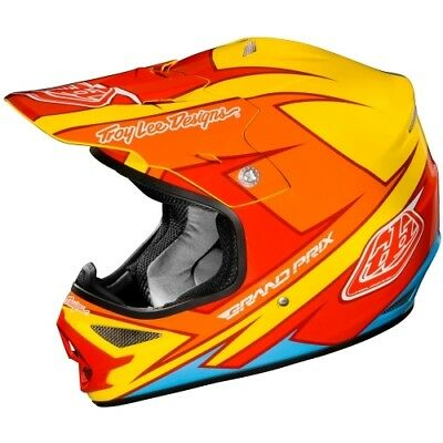 Motorradhelm Troy Lee Designs AIR Stinger gelb #9656 Cross Helm