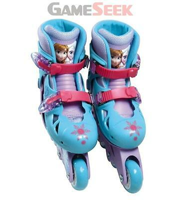 Disney Frozen Inline Roller Skates (30 - 33) - Toys Brand New Free Delivery
