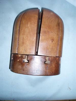 Antique Rare  Wooden Hat Stretcher  Shop Display    (Milliners). By ( ROSSITER)